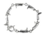 Sterling Silver Riding Boot Bracelet