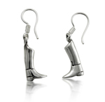 English Riding Boot Earrings