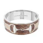 Brown Equestrian Cuff