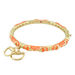 Equestrian Bangle - Orange