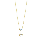 Equestrian Necklace Blue