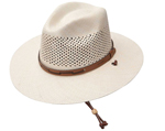Airway Chincord Panama Straw Hat