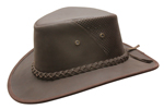 Down Under Leather Breezer Hat