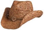Womens Clay Maize Western Fashion Hat